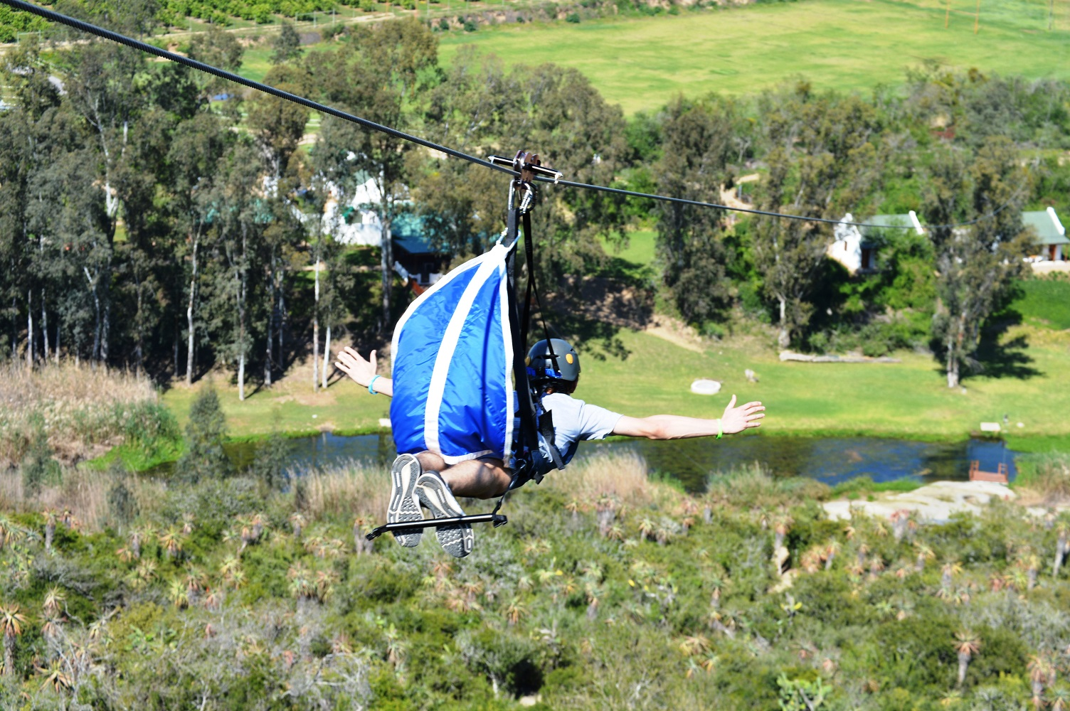 Addo superman zip line